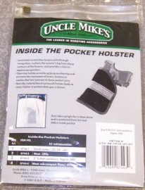 Uncle Mikes Inside the pocket Holster Size 3 -2