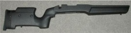 B&C Remington 700 S/A Medalsit Tactical/Varmint Adjustable -Black