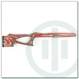PWS Predator Series T-Rex 10/22 Laminated Stock, Atomic Red