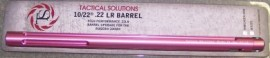 Tactical Solutions 10/22 Fluted Barrel - Pink